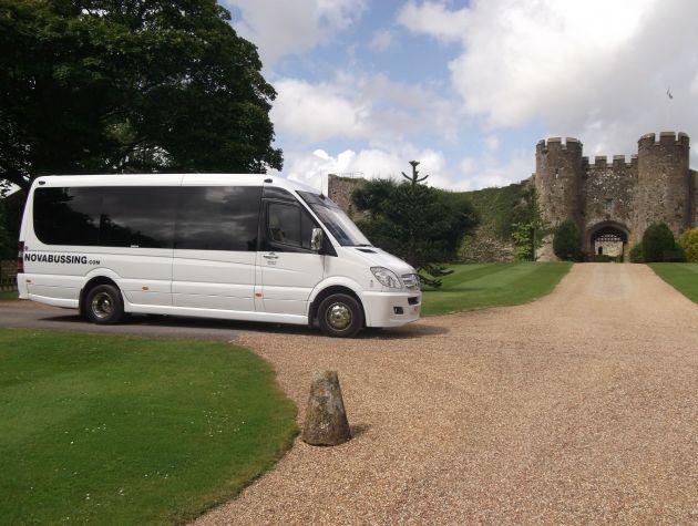 Minibus Hire (10 - 16 seats)   Nova Bussing